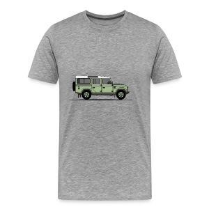 Defender 110 - Premium-T-shirt herr