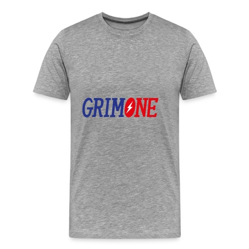 GRIMONE Logo - Männer Premium T-Shirt