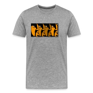 Samurai Frontline - Premium-T-shirt herr
