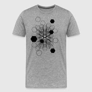 Cosmic Honeycomb - Men's Premium T-Shirt