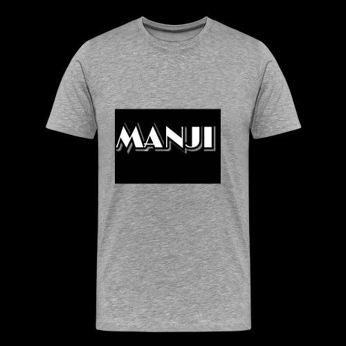 MANJI Schrift - Männer Premium T-Shirt