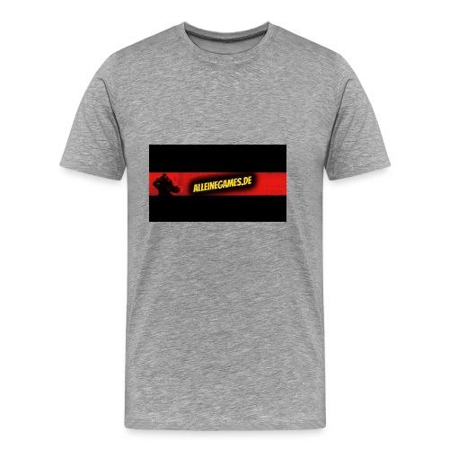 AlleineGames.de - Männer Premium T-Shirt