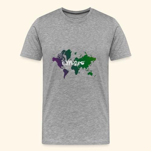 Explore - Men's Premium T-Shirt