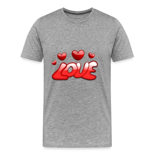 love 150277 1280 - Männer Premium T-Shirt