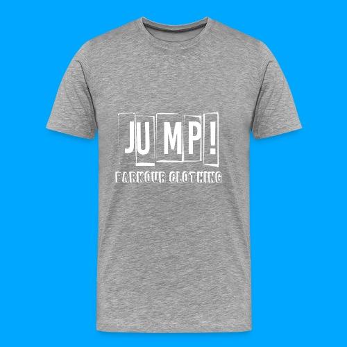 BASIC LOGO JUMP WHITE - Camiseta premium hombre
