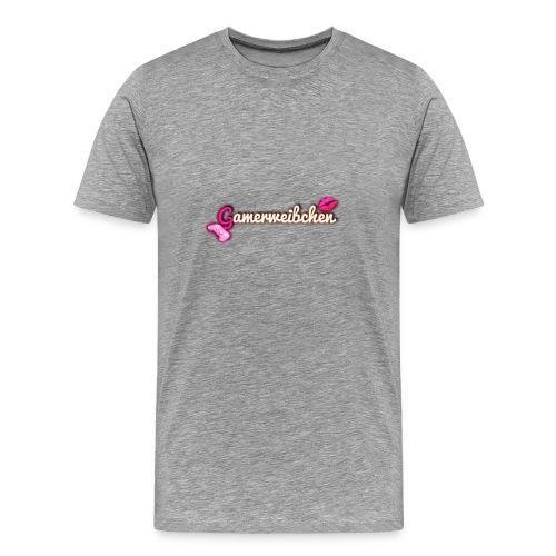 Gamerweibchen LOGO - Männer Premium T-Shirt