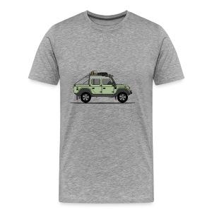 Defender 110 Offroad Pick Up - Premium-T-shirt herr