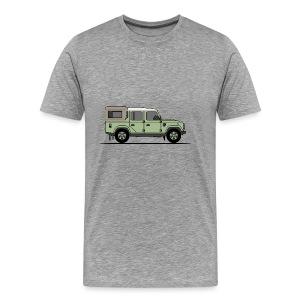 Defender 110 Pick Up - Premium-T-shirt herr