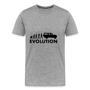 Evolution 110 - Premium-T-shirt herr