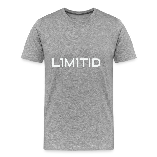 L1M1TID Official Tee - Premium T-skjorte for menn