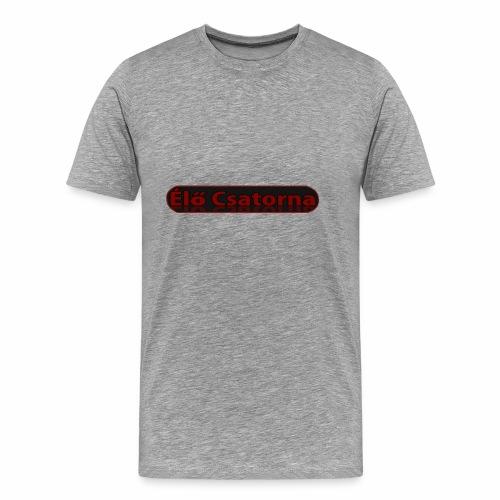 ÉlőCsatorna - Men's Premium T-Shirt