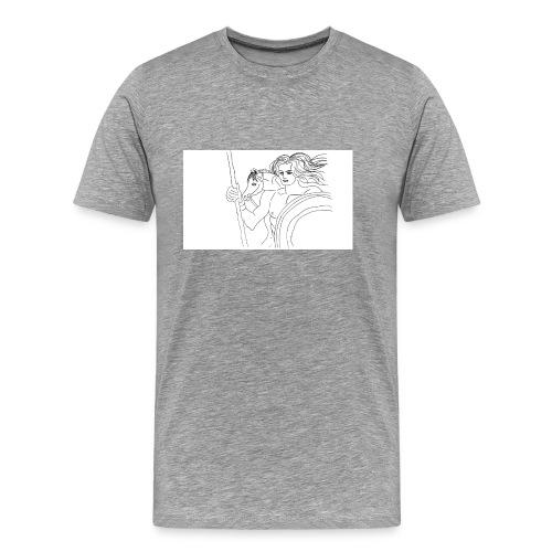 Achille-jpg - Maglietta Premium da uomo