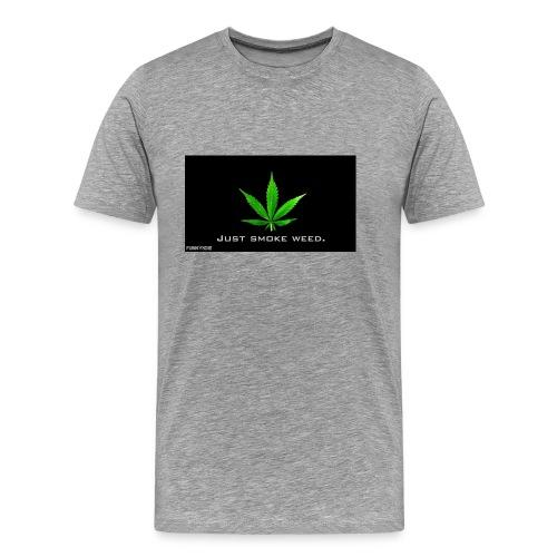 Hash medicin - Herre premium T-shirt