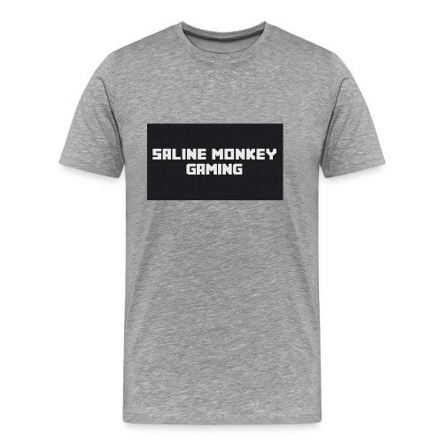 Saline monkey gaming tröja - Premium-T-shirt herr