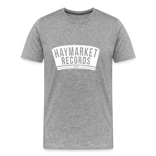 haymarketWHITE - Mannen Premium T-shirt