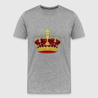 krona - Premium-T-shirt herr