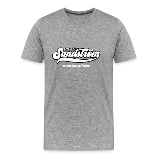 Sandstrom Bicycles black shirt - Men's Premium T-Shirt