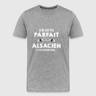 Alsacien cadeau humour - T-shirt Premium Homme
