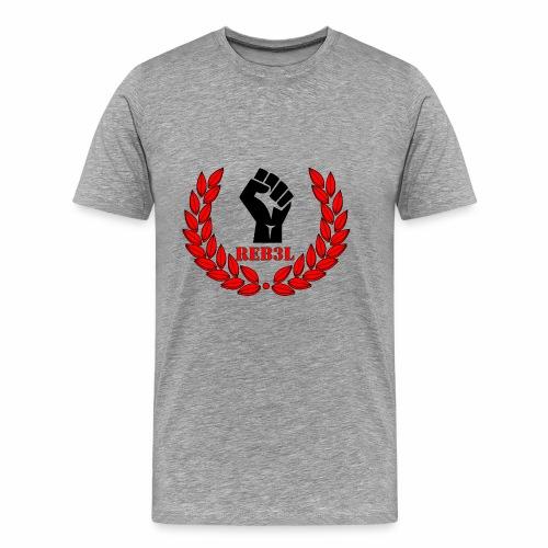 Steel Rebels Logo - Männer Premium T-Shirt