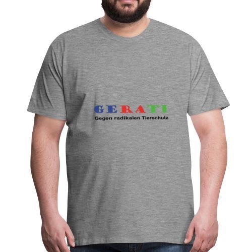 GERATI Logo Farbe - Männer Premium T-Shirt