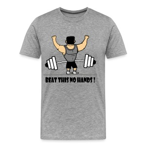 BEAT THIS NO HANDS ! - Men's Premium T-Shirt