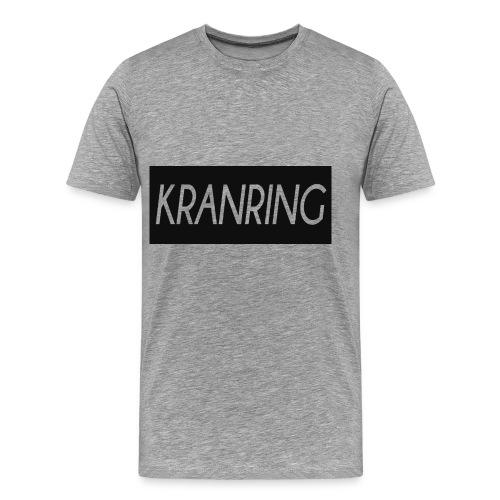 Kranring_Shirt_Logo - Premium-T-shirt herr
