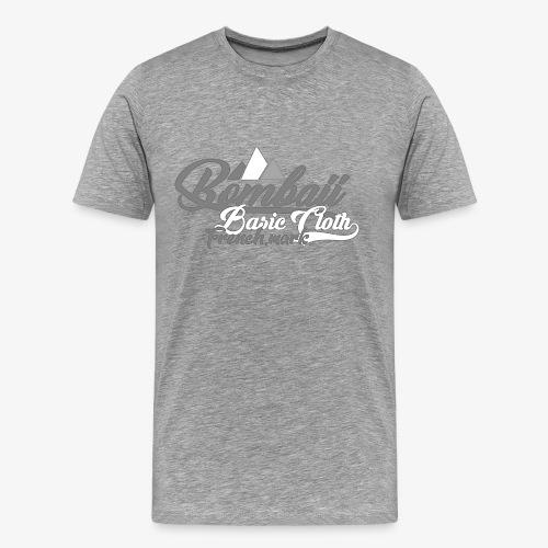 BomBaii french mountain grey - T-shirt Premium Homme