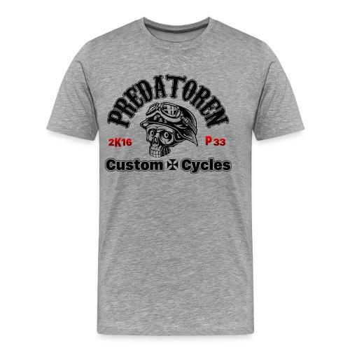 Die Predatoren Klamotte u. Accessoires Logo black - Männer Premium T-Shirt