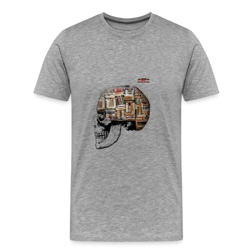 GSF MIND FULL OF BOOKS DESIGN - Männer Premium T-Shirt