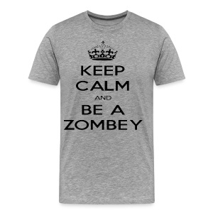 MiningZombey Merchstore logo v1 schwarz - Männer Premium T-Shirt