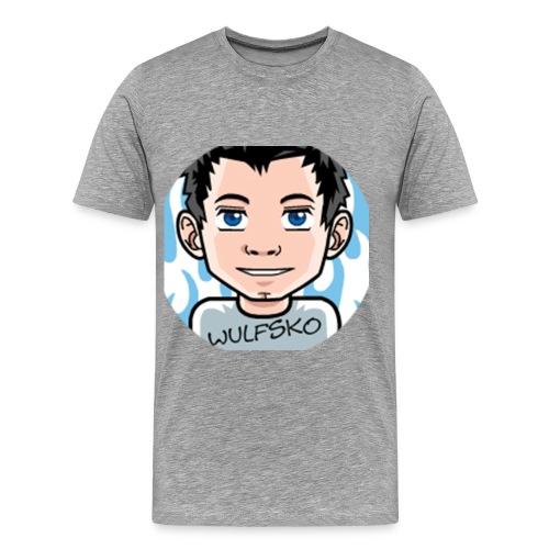 Wulfsko's Logo :D - Männer Premium T-Shirt