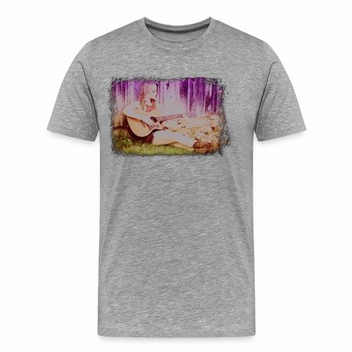 Guitar Girl - Men's Premium T-Shirt