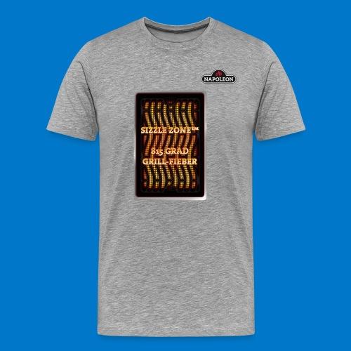 GRILL FIEBER - Männer Premium T-Shirt