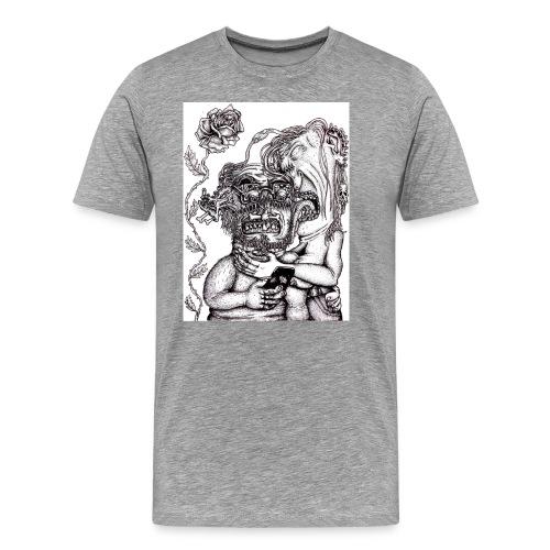 Piercat par - Premium-T-shirt herr