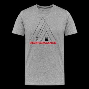 LA Performamce black/red - Männer Premium T-Shirt