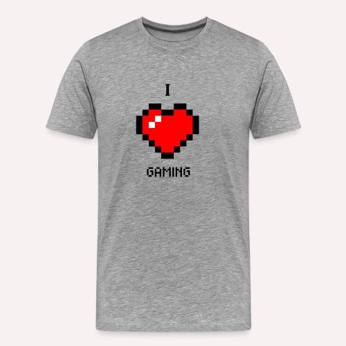 I Love Gaming - Männer Premium T-Shirt