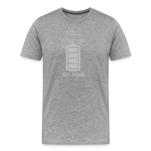 Invisible Gym Design - Men's Premium T-Shirt