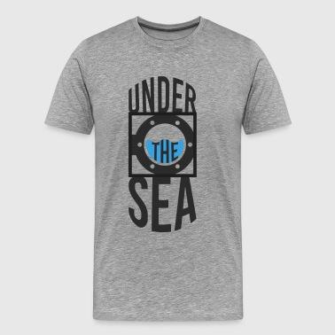 Under havet - Premium-T-shirt herr