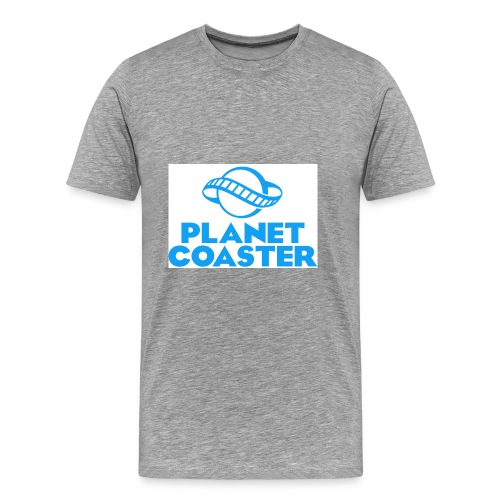 game planet coaster - Mannen Premium T-shirt
