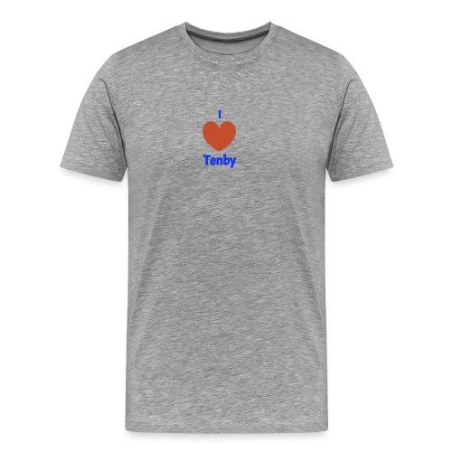I love Tenby - Men's Premium T-Shirt