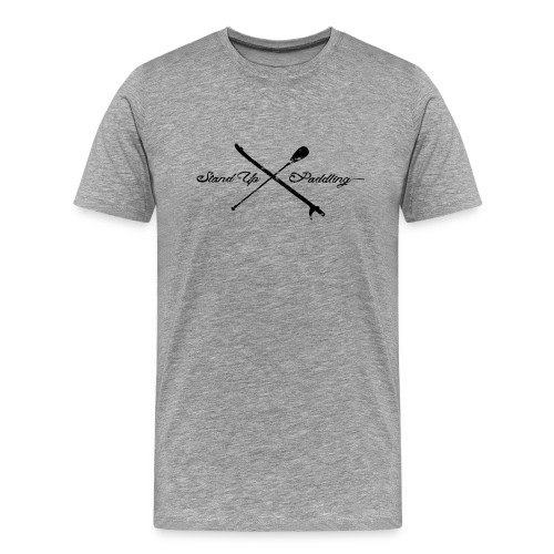 Stand Up Paddling - Cross - Männer Premium T-Shirt