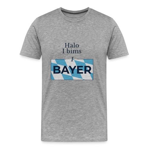 Halo I bims 1 BAYER - Männer Premium T-Shirt
