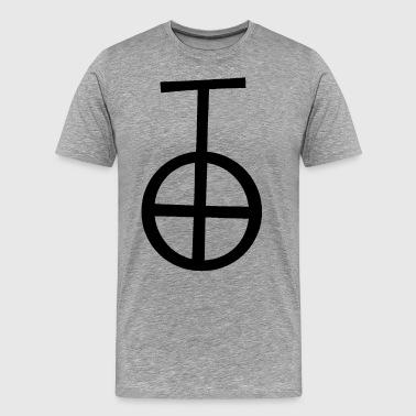 Otalig Ockult av Black Magic - Premium-T-shirt herr