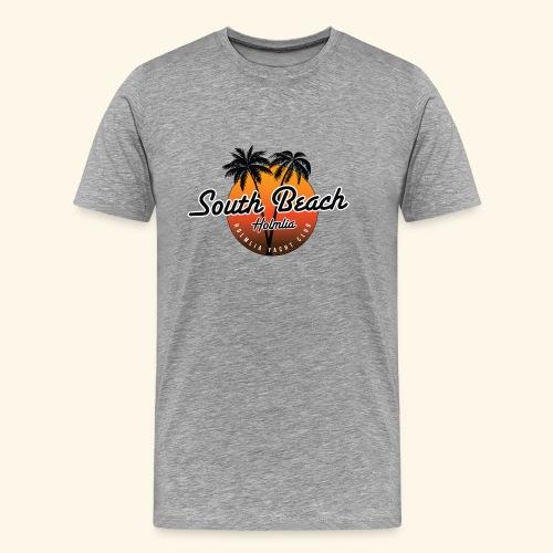 South Beach, Holmlia. Det er det vi kaller det. - Premium T-skjorte for menn