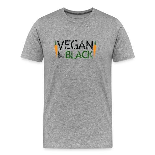 Vegan is the new black - Camiseta premium hombre