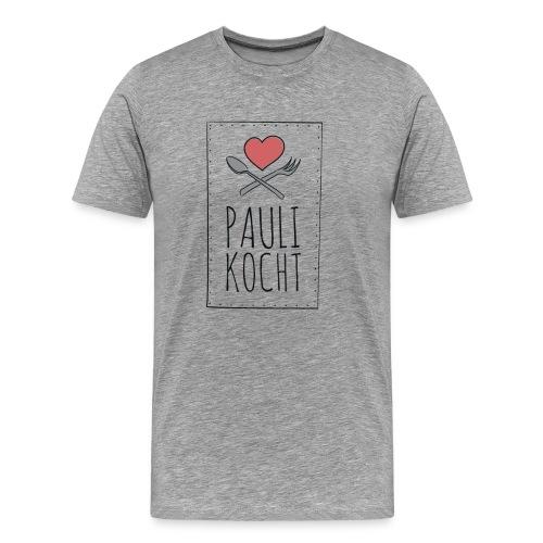 Logo Paulikocht - Männer Premium T-Shirt