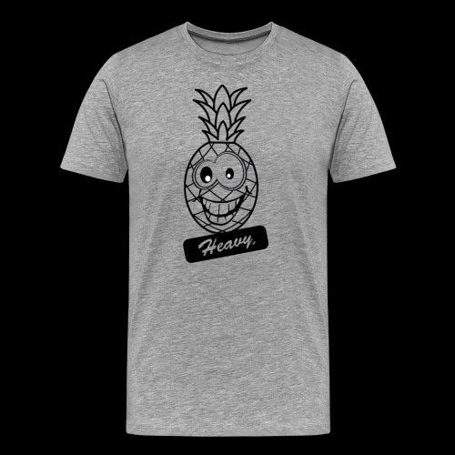 Design Ananas Heavy - T-shirt Premium Homme