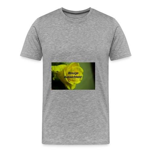 Rosige_aussichten_ - Männer Premium T-Shirt