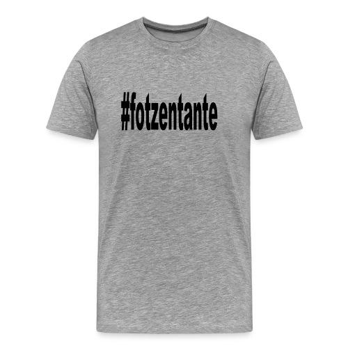 #fotzentante - Männer Premium T-Shirt