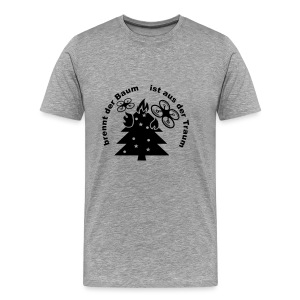 burning-tree - Männer Premium T-Shirt